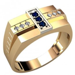 Мужское кольцо 3078