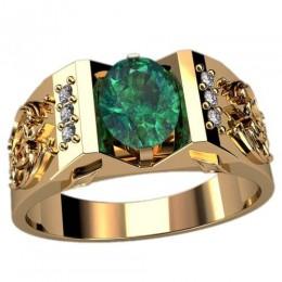 Мужское кольцо 3081