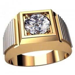 Мужское кольцо 3085