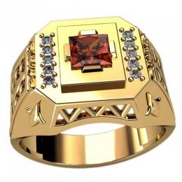 Мужское кольцо 3086