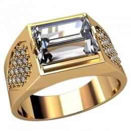 Мужское кольцо 3088