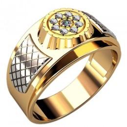 Мужское кольцо 3089