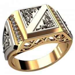 Мужское кольцо 3090