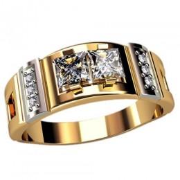 Мужское кольцо 3091