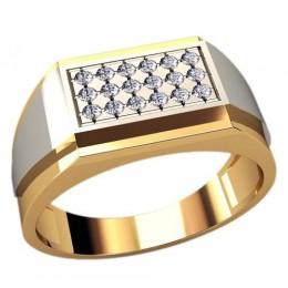 Мужское кольцо 3092
