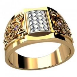 Мужское кольцо 3093