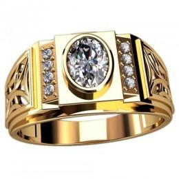Мужское кольцо 3098