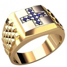 Мужское кольцо 3107
