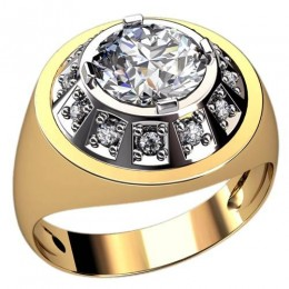 Мужское кольцо 3109