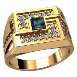 Мужское кольцо 3112