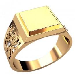 Мужское кольцо 3114