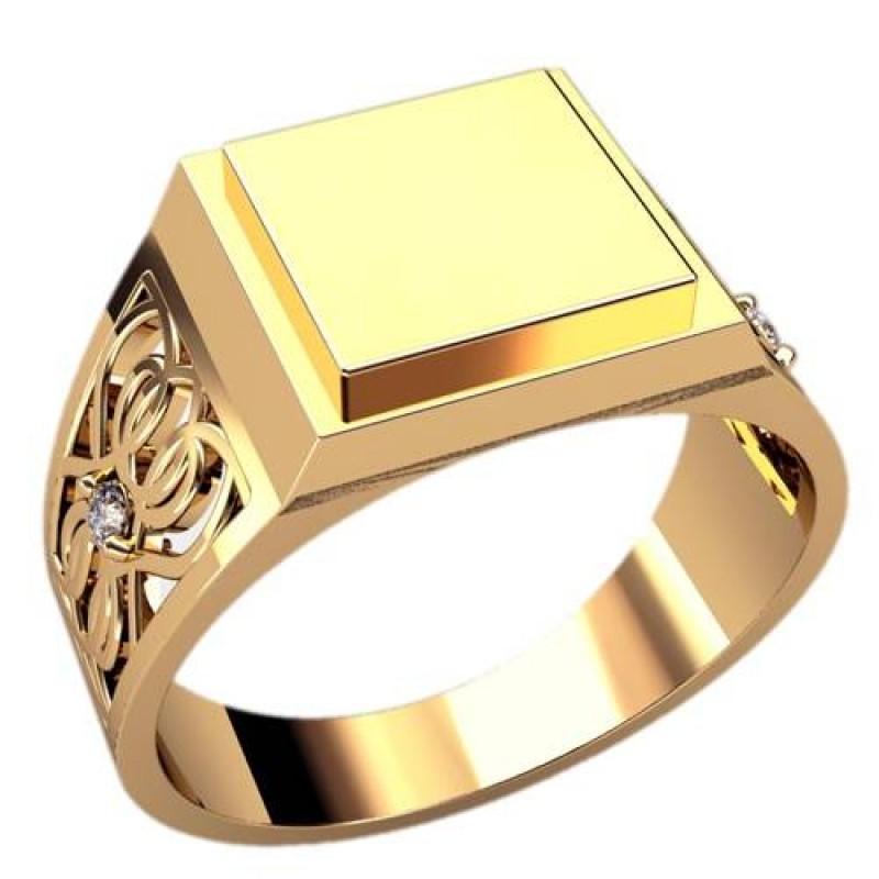 Мужское золотое кольцо. Признак состоятельности. Сегодня стильные украшения создают не только для женщин