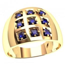 Мужское кольцо 3115