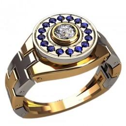 Мужское кольцо 3116