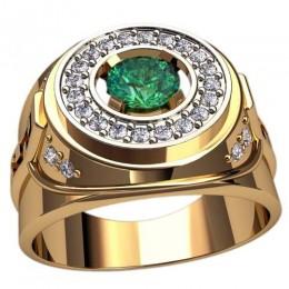 Мужское кольцо 3119
