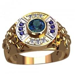 Мужское кольцо 3123