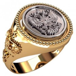 Мужское кольцо 3125