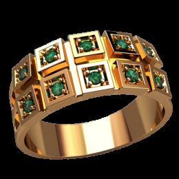 Мужское кольцо 3134