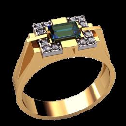 Мужское кольцо 3135