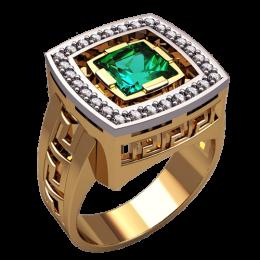 Мужское кольцо 3138