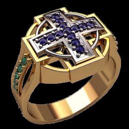 Мужское кольцо 3142