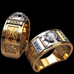 Мужское кольцо 3149