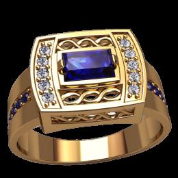 Мужское кольцо 3151