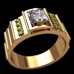 Мужское кольцо 3155