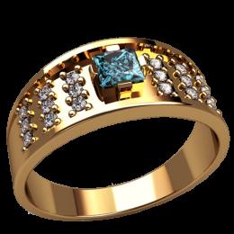 Мужское кольцо 3157
