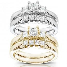 Anastasia bridal set (Набор колец невесты)