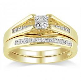Brigitte bridal set (Набор колец невесты)