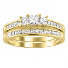 Claire bridal set (Набор колец невесты)