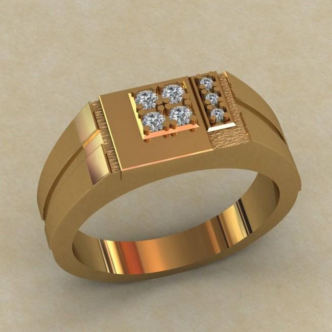 Мужское кольцо КМ-656