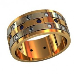 Мужское авторское кольцо 000070