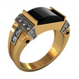 Мужское авторское кольцо 000440