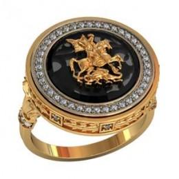 Мужское авторское кольцо 000450