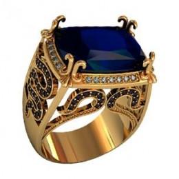 Мужское авторское кольцо 000460