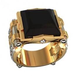 Мужское авторское кольцо 000470
