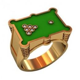 Мужское авторское кольцо 000480