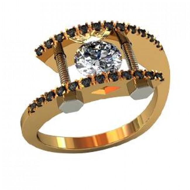 Мужское авторское кольцо 000500