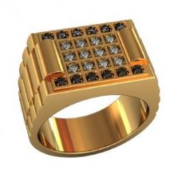 Мужское авторское кольцо 000510