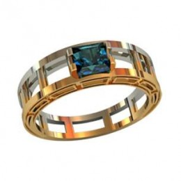 Мужское авторское кольцо 000530