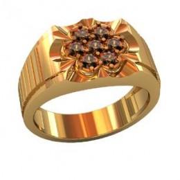 Мужское авторское кольцо 000540