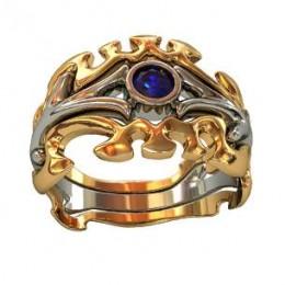 Мужское авторское кольцо 000550