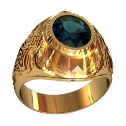 Мужское авторское кольцо 000570