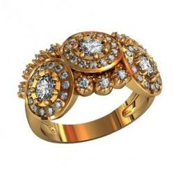 Женский перстень 000820