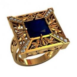 Мужское авторское кольцо 000930