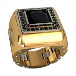Мужское авторское кольцо 001030