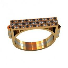 Мужское авторское кольцо 001100