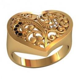Женский перстень 001120